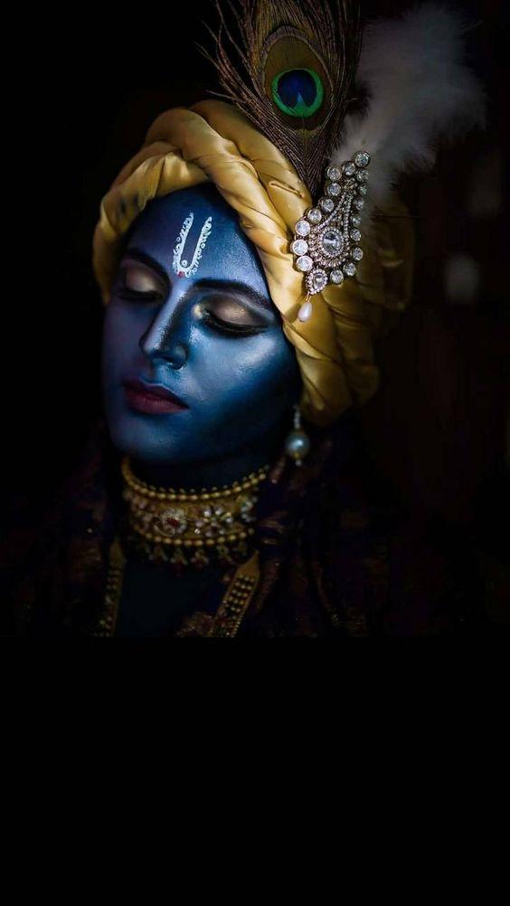 One Of The Most Beautiful Images Of Lord Krishna Radha Krishna Hd Image